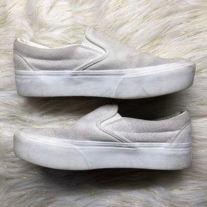 Slip on platform Vans